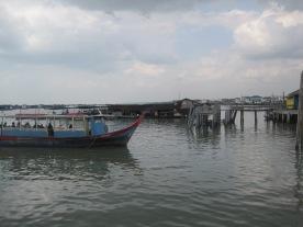 Views from Kukup jetty.
