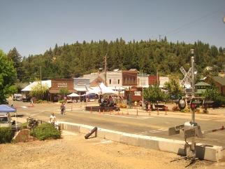 train-small-town