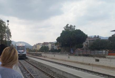 Train to Izmir from Selcuk