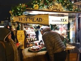 Hot mead and roasted tea