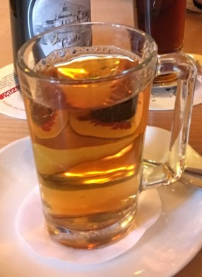 Jager-tea (Jagermeister + tea)