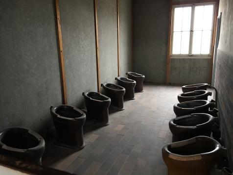 Common toilet area