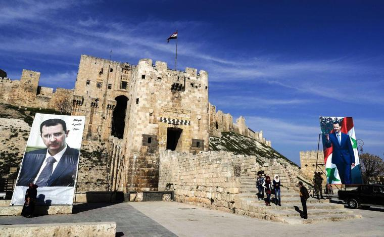 Aleppo Citadel after 2