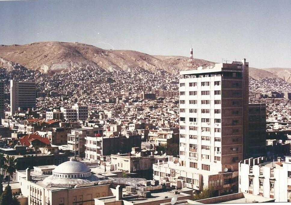 Damascus skyline