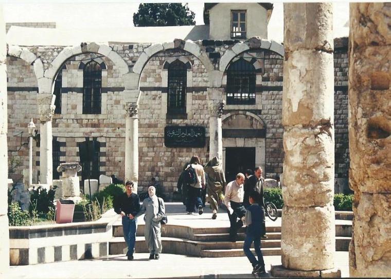 Ummayad Mosque columns