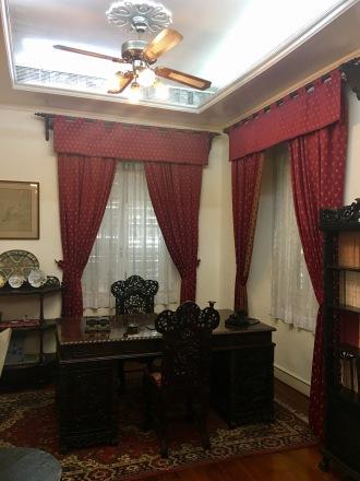 Interior of a Taipa house
