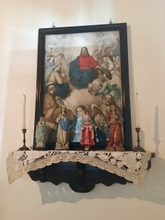 Altar in a typical Portuguese home